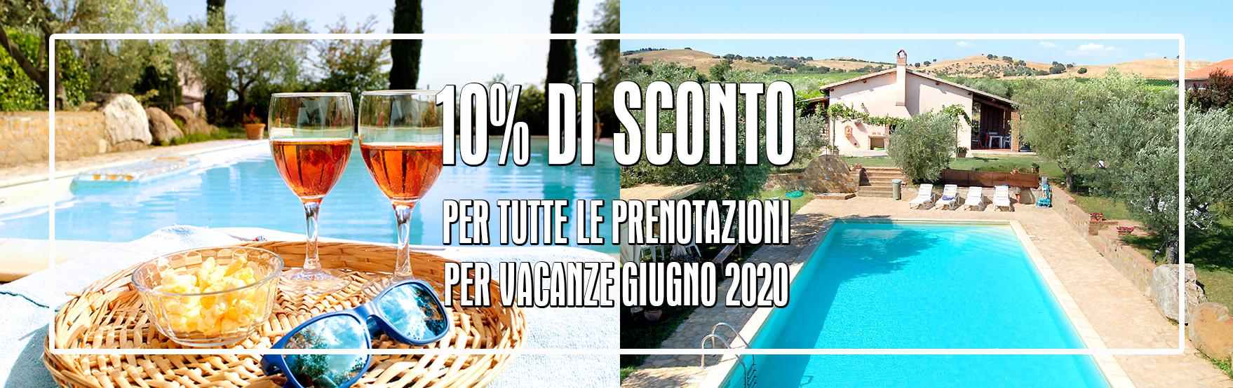 Offerta Agriturismo Maremma Toscana con Piscina Il Gaggiolo